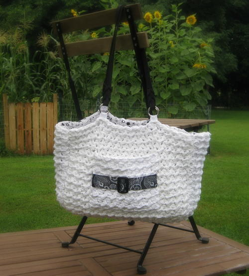 Buckle Bag Crochet Pattern