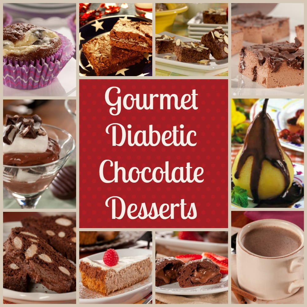 Gourmet Diabetic Desserts: Our 10 Best Easy Chocolate Dessert ...
