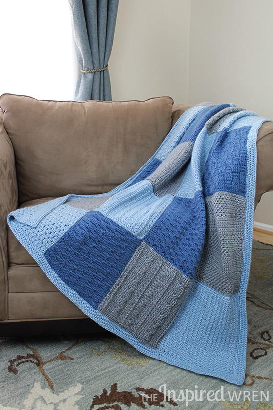 free crochet stitch sampler afghan pattern