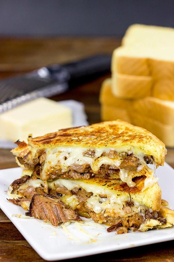 Smoked Brisket Grilled Cheese Recipelion Com