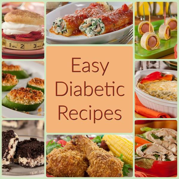 Diabetic easy recipes