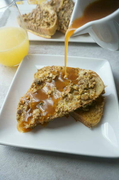 Baklava French Toast with Cinnamon Honey Syrup ...