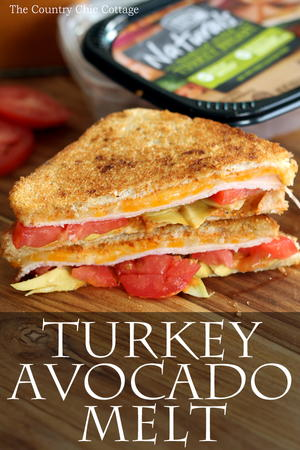Turkey Avocado Melt