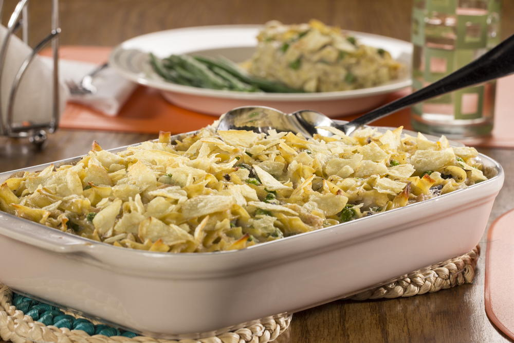 Mom 39 s tuna noodle casserole for Tuna fish casserole recipe