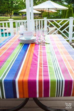 No-Fuss No-Sew Tablecloth