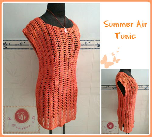 Summer Air Crochet Tunic