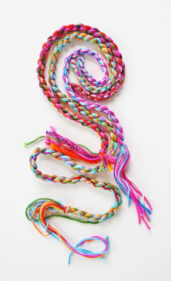 How To Make Yarn Rope Allfreekidscrafts Com