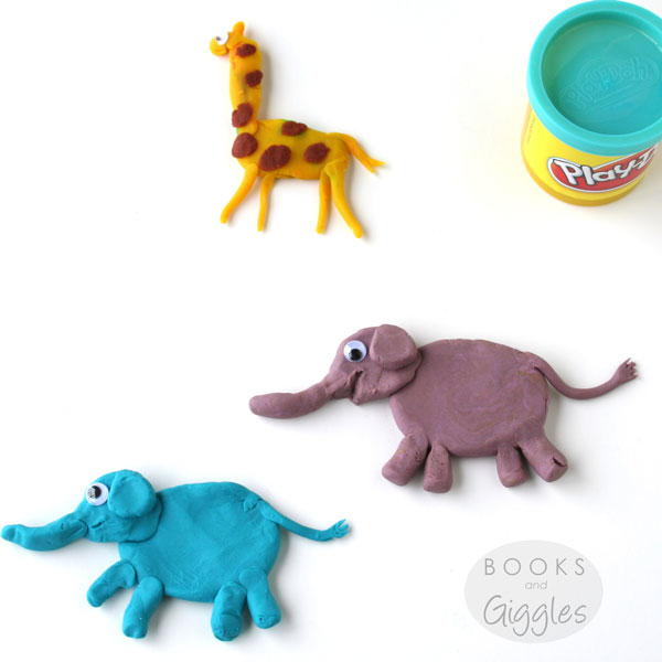 Easy Playdough Animals AllFreeKidsCrafts