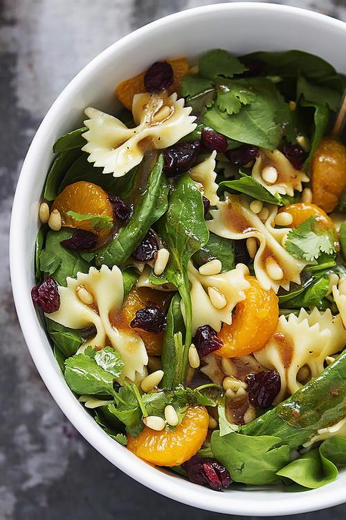 Perfect Pasta Salad with Mandarin Oranges