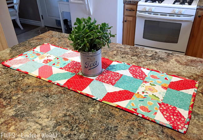 Tea Time Diy Table Runner Favequilts Com