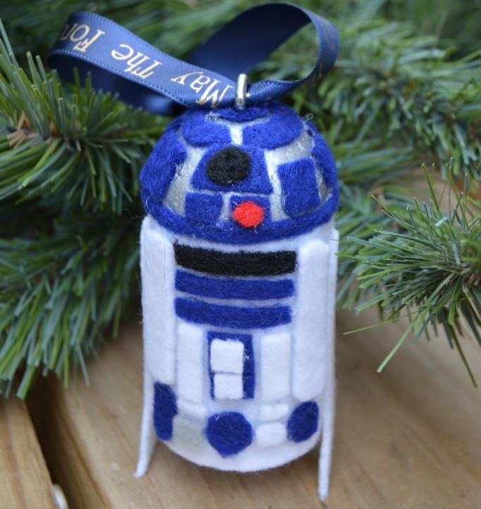 Felt R2 D2 Christmas Ornament Craft