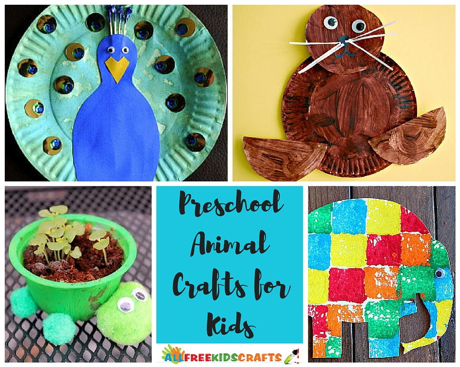 100 Preschool Animal Crafts And More Allfreekidscrafts Com