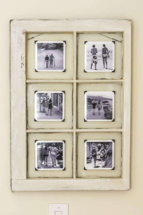 Upcycled Window Frame Craft