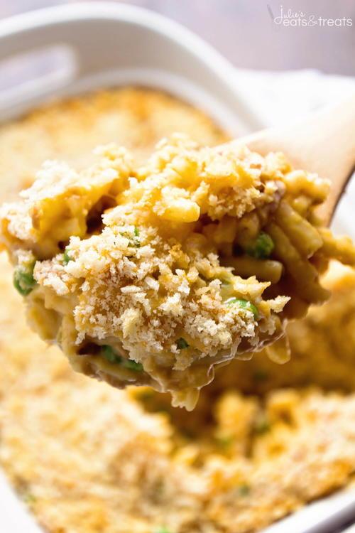 Tuna Macaroni Hotdish