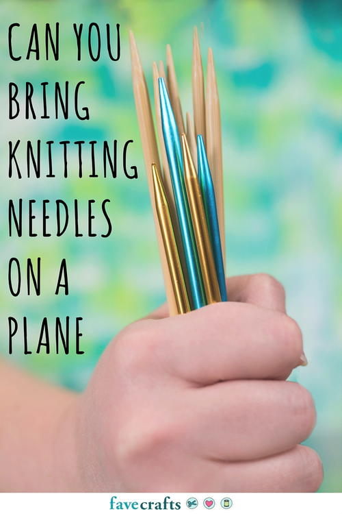 Can You Bring Knitting Needles on a Plane