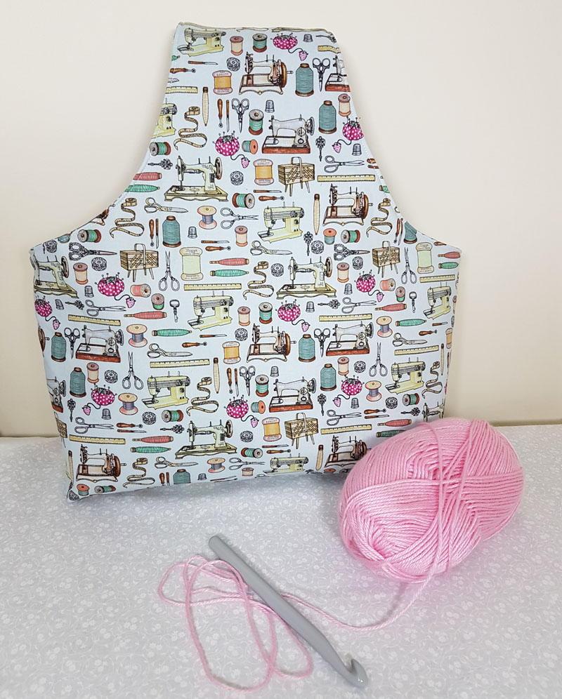 One Yard Yarn Bag | AllFreeSewing.com