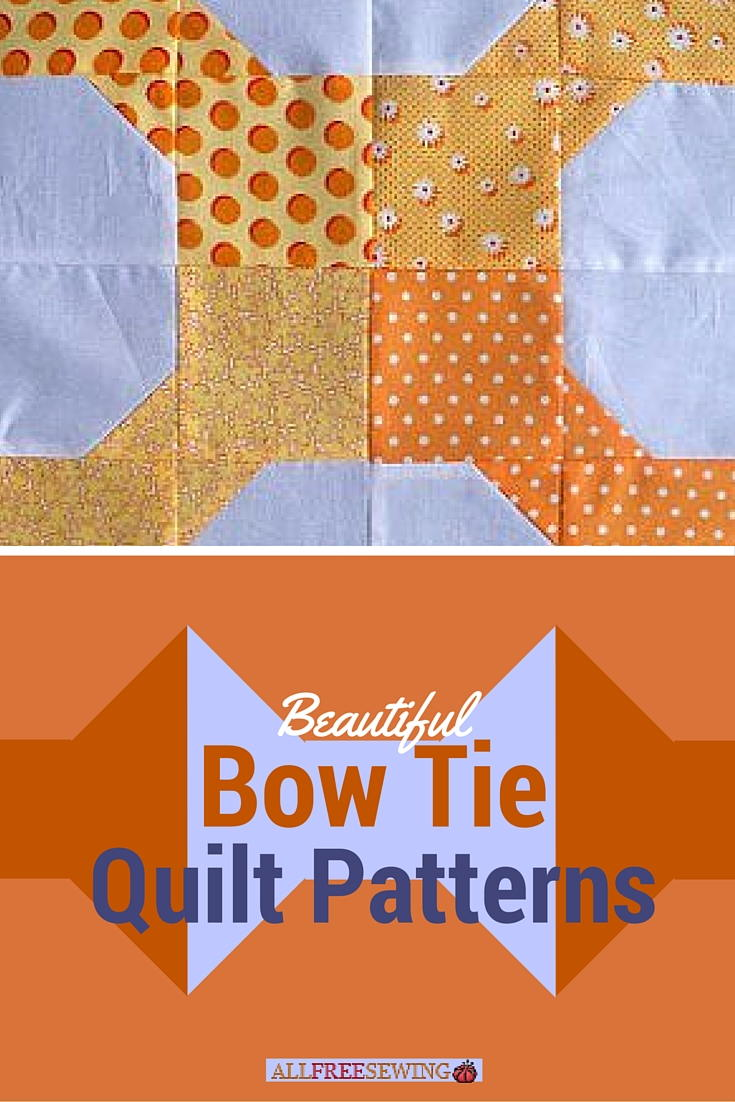 9 Beautiful Bow Tie Quilt Patterns Favequilts Com