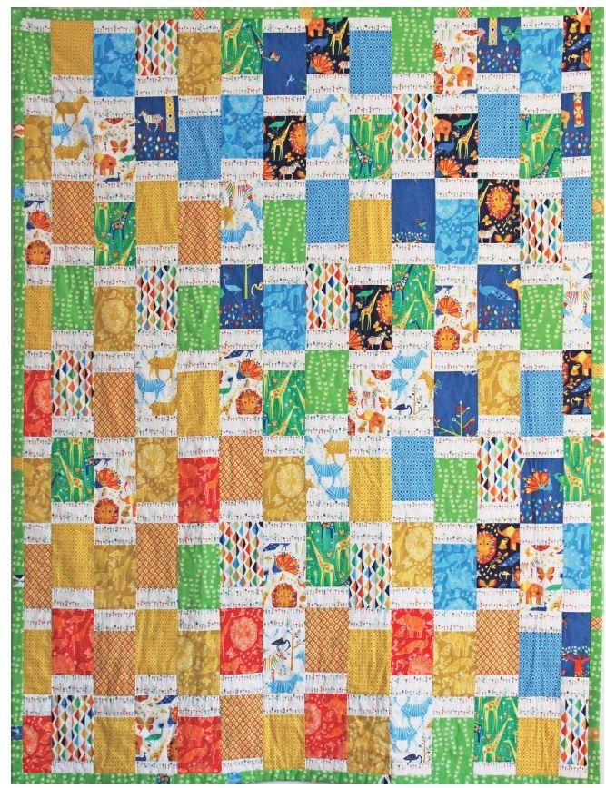 African Jungle Bargello Quilt Pattern Favequilts Com