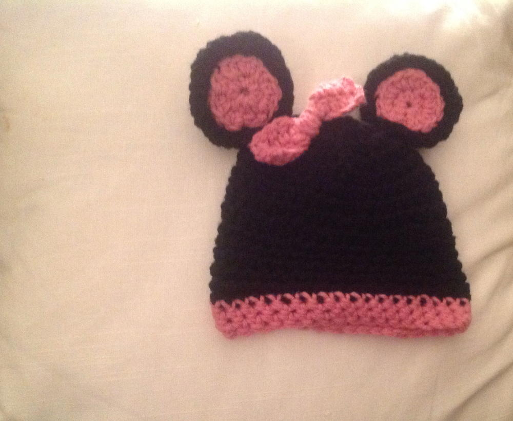 735da3db0810 Mickey and Minnie Crochet Hats | AllFreeCrochet.com
