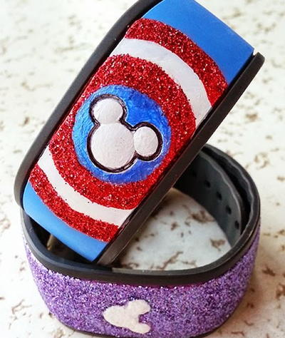 Captain America MagicBand