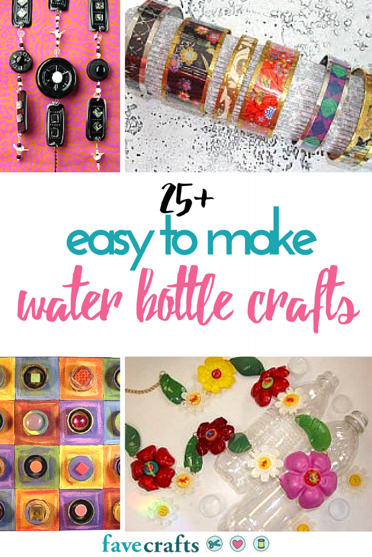 25 Easy To Make Water Bottle Crafts Favecrafts Com