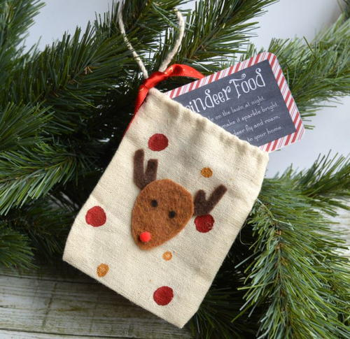 Reindeer Food Christmas Ornament Crafts for Kids ...