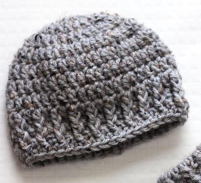The Parker Newborn Hat Allfreecrochetcom