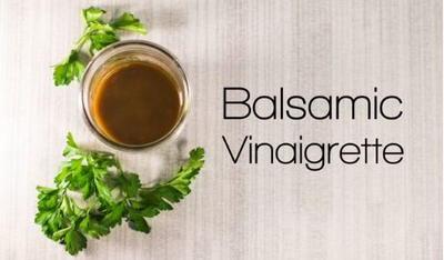 How to Make Balsamic Vinaigrette | RecipeLion.com