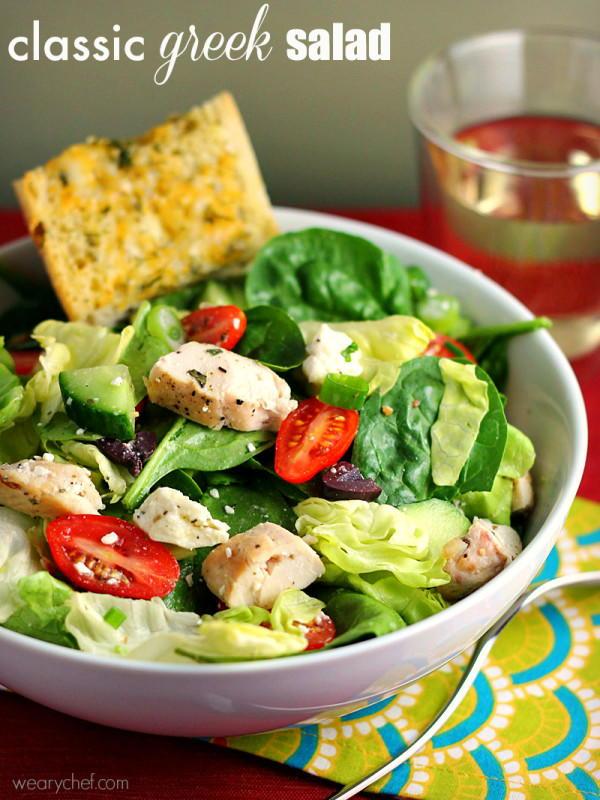 Classic Greek Salad Recipelion Com