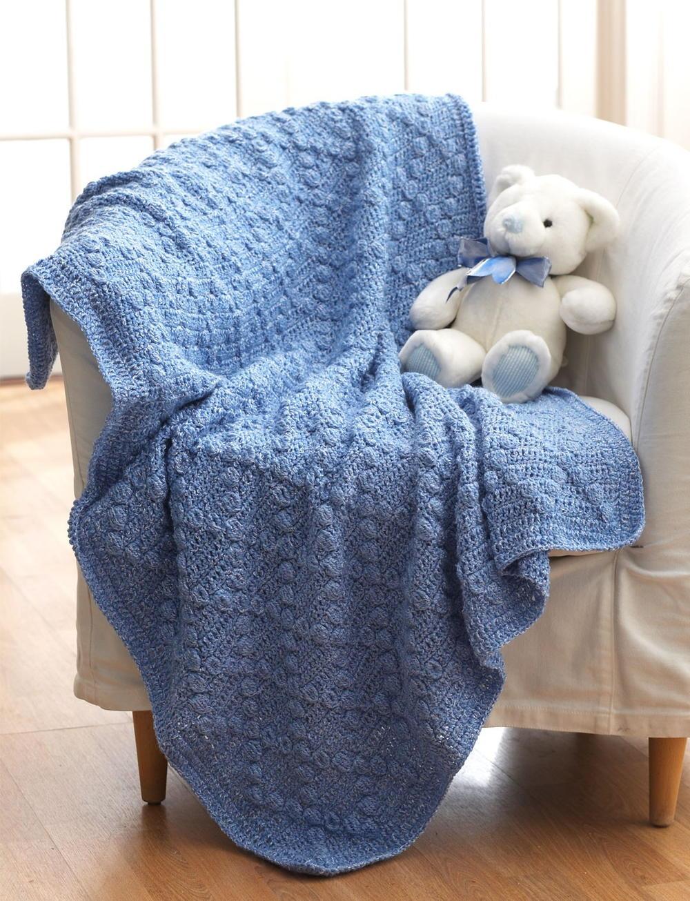 Bumpy Baby Blanket Allfreecrochetafghanpatterns Com