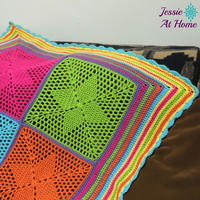 36 Colorful Crochet Afghan Patterns