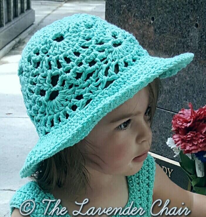 Lacy Shells Hat Allfreecrochet