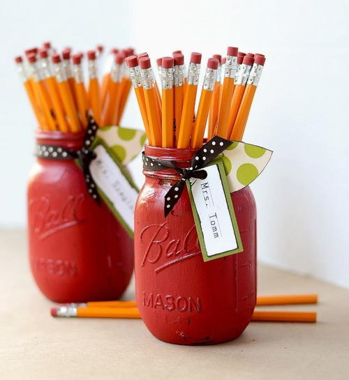 Apple Mason Jar Crafts