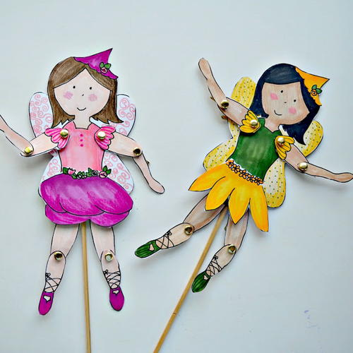 how to make fairy wings with paper