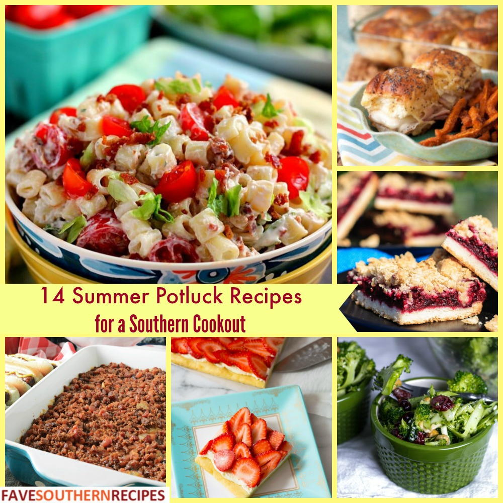 14 Summer Potluck Recipes For A Southern Cookout