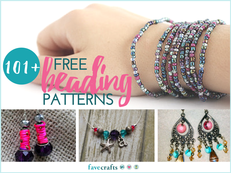 101 free beading patterns favecrafts