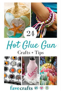 24 Hot Glue Gun Crafts + Tips For Working With Hot Glue