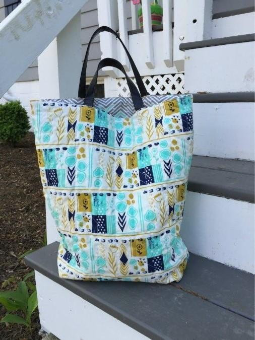 Quilted Diy Tote Bag Favecrafts Com