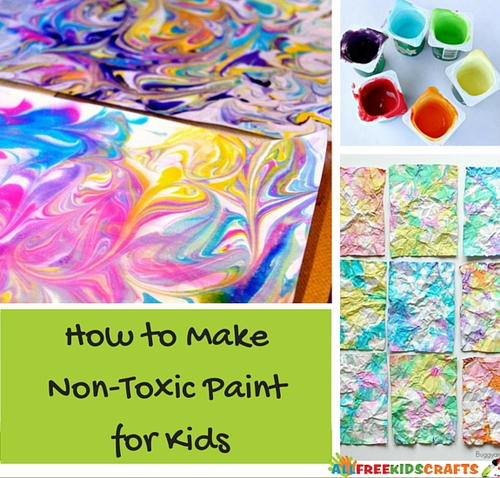 How To Make Non Toxic Paint For Kids