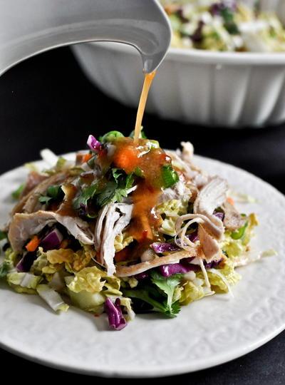 Copycat California Pizza Kitchen Thai Chicken Salad