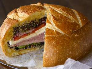 Muffuletta for a Picnic or a Boat-nic