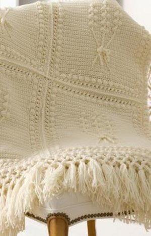 Aran Crochet Throw Favecrafts Com