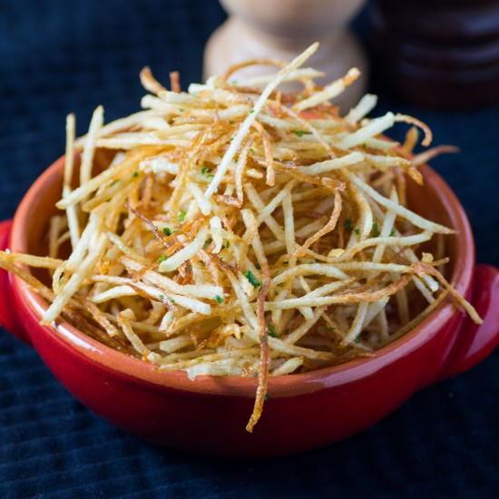 Copycat Ruth S Chris Shoestring Fries Recipe