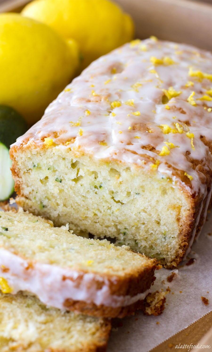 Lemon Zucchini Bread Thebestdessertrecipes Com