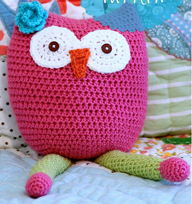 Free Owl Stuffed Cuddly Crochet Pattern : Caterpillar Cuddle Buddy AllFreeCrochet.com