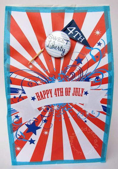 July 4th Party Bags for Grown-Ups