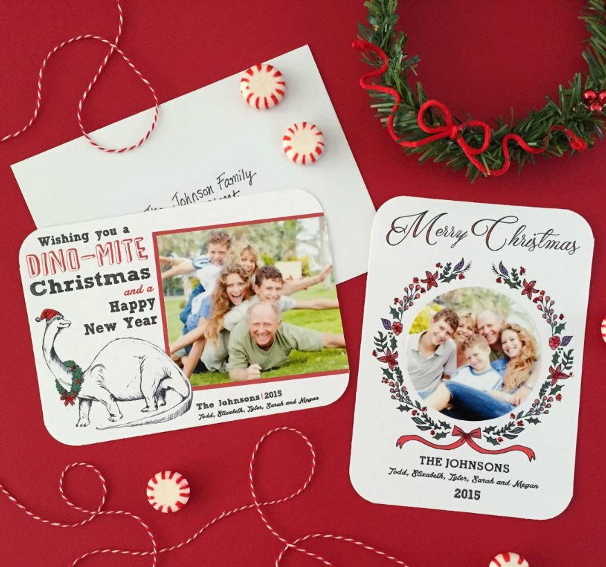 Personalized Printable Christmas Photo Cards ...