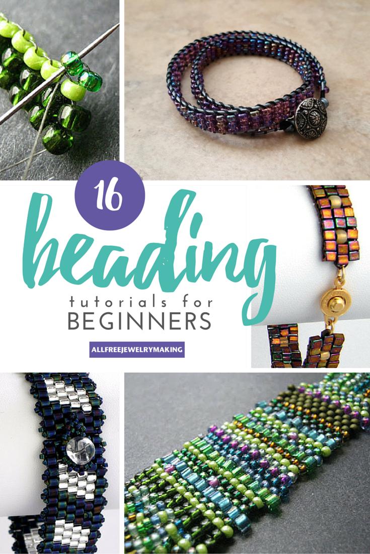 Tutorials For Makeup: Beginner Beading Tutorials: How To Peyote Stitch, Brick