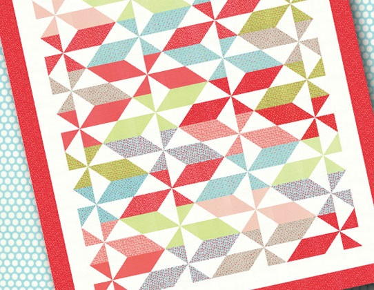Little Ruby Fat Quarter Quilt Favequilts Com
