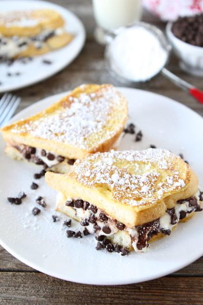 Bed And Breakfast Stuffed French Toast